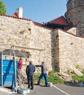 Je hrad Hněvín replika, nebo jsou části historické ?