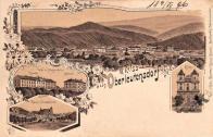 Litvínov litografie 1906