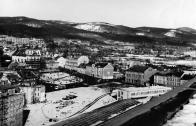Rozestavěné centrum 1969-1971
