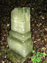 Neznámý pomníček nad hradem Osek