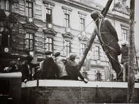 Odstranění sochy v r.1938