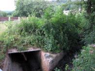 Obr.19: Poslední snímek ze stejného místa ,tentokráte směr od ulice PKH t.j. proti směru toku potoka
