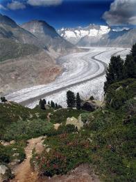 Takto nějak, by mohli ledovce v našich horách vypadat...