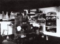 Interiér krušnohorské světnice z 20.let 20.století