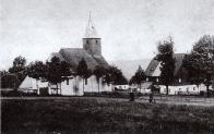 Použití šindele bylo typické pro krušnohorské obce, nejvýstižněji to zachycuje dobový snímek středové části Českého Jiřetína