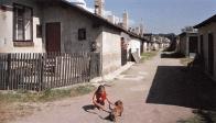 Památkově chráněná hornická kolonie v Lomu v hornické ulici