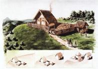 Rekonstrukce časného šlechtického sídla z poloviny 13.století v Bedřichově Světci