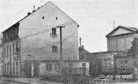 Dělnický dům v Lomu na historické fotografii