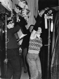 H. Januszewská: Tygřík Petřík, režie vedoucí souboru J. Nováček na fotu v popředí, premiéra 1967