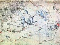 Na Kreibichově kopii (sekce č. 37 z map Josefského vojenského mapování z let 1927-1933) je zachyceno okolí zbytků Komořanského jezera koncem 18 století (mapa č.1)