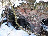Další zbytky po technických budovách dolu 2008