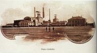 Důl Pluto v Louce u Litvínova v roce 1898
