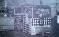 Odtěžování zásob z revírů na Dole Pluto II se provádělo moderní lokomotivní dopravou