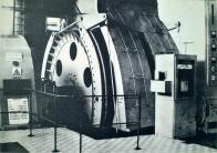 Těžní elektrický stroj na jámě Pluto II; od roku 1961 vytěžil více než 16 miliónů tun uhlí