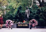 Pomník obětí katastrofy na Dole Pluto 3.9.1981 v Litvínově