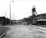 Důl Pluto II v Louce u Litvínova v roce 1964
