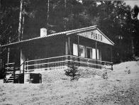 Závodová chatka v Žerotíně u Panenského Týnce sloužila především pro rodinnou rekreaci každoročně od června do října