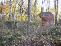 Zbytky budov dolu Wilhelm