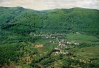 Černice pohled ke Krušným horám