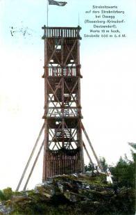 Rozhledna na Stropníku - Strobnitzwarte