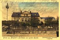 Bargners Gasthaus 1911.
