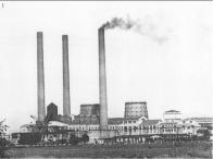 Dobová fotografie elektrárny
