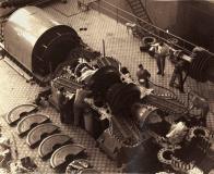 Pohled do strojovny 1969
