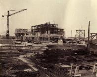 Stavby zásobníku uhlí, 1947