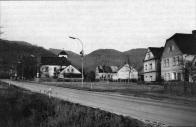 Centrum obce 70.léta 20.století