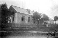 Škola na Dlouhé Louce v r.1931