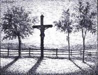 Kříž na Dlouhé Louce