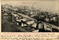 Zničující požár v Dlouhé ulici v r.1904