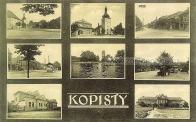 Okénková pohlednice Kopist