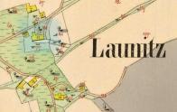 Mlýn na mapě - Císařský otisk 1845