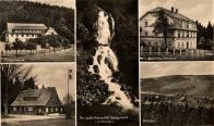 Okénková pohlednice - Motzdorf a okolí 1943