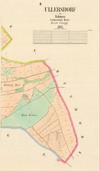 Stabilní katastr-povinné císařské otisky cca 1842