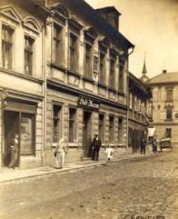 Knihovna měla sídlo v budově České záložny