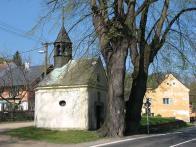 Křižanovská barokní kaple z roku 1735