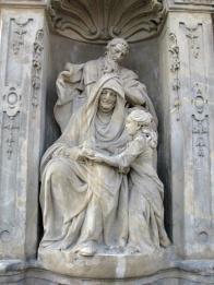 sv. Jáchym, sv. Anna a Panna Maria