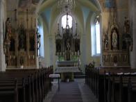 Kostel sv.Barbory - oltáře