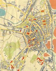 Mapa z 19 století
