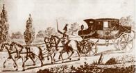 První poštovní přepravu u nás zajišťovaly poštovní korby, od 19. století též poštovní rychlíky tažené koňským spřežením. Tuto původní přepravu postupně ve druhé polovině 19. století nahradila vlaková pošta na vznikajících železničních tratích