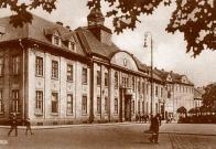 Poštovní a telegrafní úřad kolem roku 1938