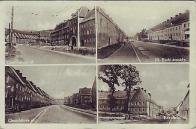 """Foto z dob, kdy byly ulice """"zadrátovány"""" trolejbusovými trakcemi"""