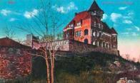 Hrad Hněvín na Zámeckém vrchu roku 1925