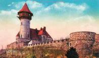 Již poněkud pozměněný stav hradu po rekonstrukci v roce 1911