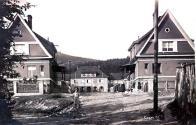 Snímek osady po dobudování