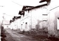 Hornická kolonie Mariánská v Uhelné ulici. Pohled od jihu. Cca 60-70 léta 20.století