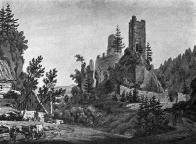 Hrad Osek, ke konci VIII. století