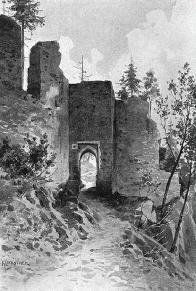 Brána hradu